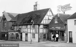 Hailsham, Old Houses c.1955