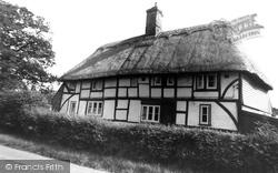 Hailsham, Old Thatched Cottage, Hempstead Lane c.1960
