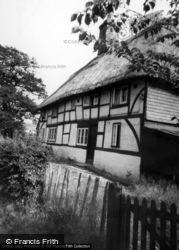 Old Thatched Cottage, Hempstead Lane c.1960, Hailsham