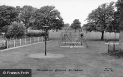 Recreation Ground c.1965, Hailsham