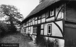Hailsham, Thatched Cottage c.1965