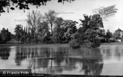 The Common Pond c.1955, Hailsham