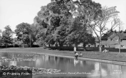The Common Pond c.1960, Hailsham