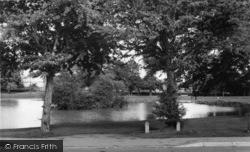Hailsham, The Common Pond c.1965