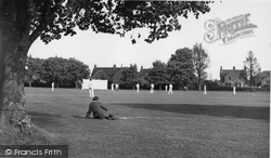Hailsham, The Cricket Field c.1955