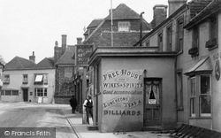 Hailsham, The George Hotel, George Street 1900
