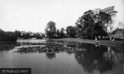 Hailsham, The Pond c.1960