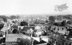 Hailsham, View From Church Tower 1900
