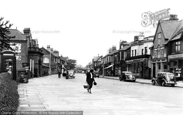 Hale, Ashley Road c1955