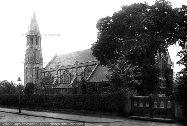 Hale, St Peter's Church 1907