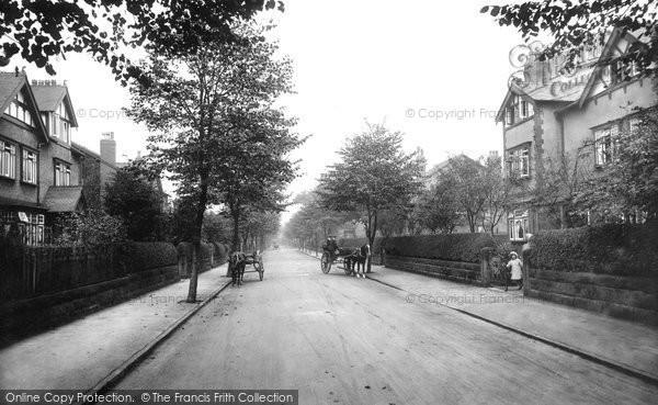 Hale, Warwick Road 1913