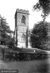 Hales, St Mary's Church 1911