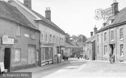 Bridge Street c.1955, Halesworth