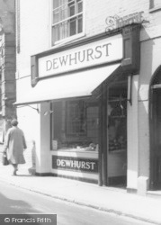 Dewhurst Butchers c.1955, Halesworth