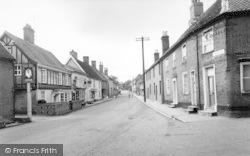 London Road c.1955, Halesworth