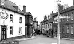 Market Place c.1955, Halesworth