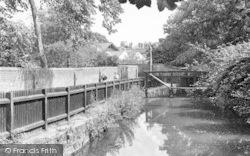 Quay River c.1955, Halesworth
