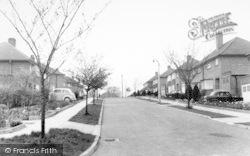 Queens Drive c.1960, Halesworth
