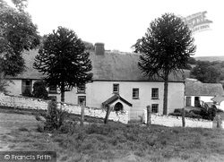 Halfway, Home Of William Williams, (Pant-Y-Celyn) c.1955