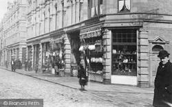 Halifax, Butchers Shop 1893