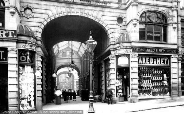 Photo of Halifax, Market Hall Entrance 1896