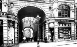 Halifax, Market Hall Entrance 1896