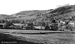 Halifax, Shibden Valley From Godley c.1955
