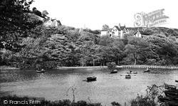 Halifax, The Boating Lake, Shibden Park c.1955