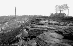 Halifax, The Rocks 1893