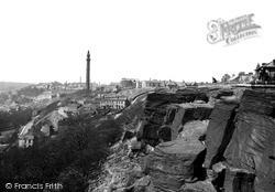 Halifax, The Rocks And Wainhouse Tower c.1955