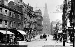 Halifax, Town Hall From Corn Market 1900