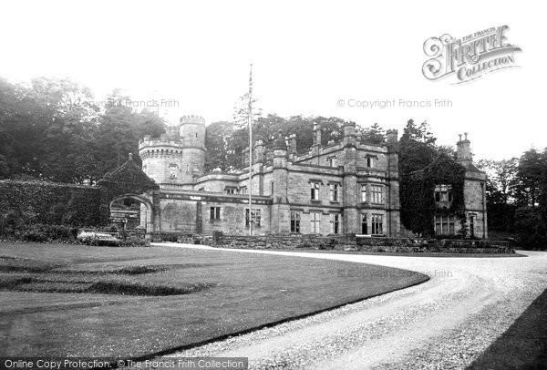 Photo of Halkyn, Castle c.1940