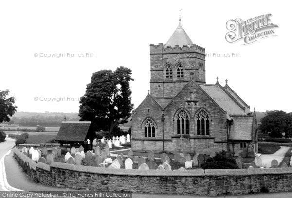 Photo of Halkyn, St Mary's Church c.1955