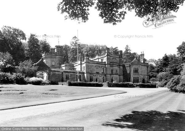 Halkyn, the Castle c1940