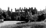 Halkyn, the Castle c1955