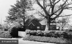 Halland Chapel c.1955, Halland