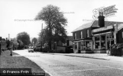 Halland Stores And Post Office c.1965, Halland