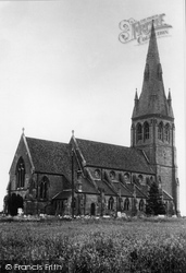 St Peter And St James Church 1950, Hallow