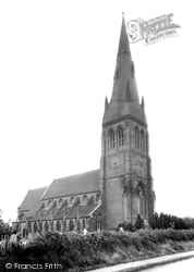 St Peter And St James' Church c.1960, Hallow