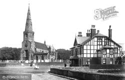 Halsall, Parish Church Of St Cuthbert 1900