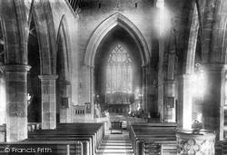 The Church Interior 1900, Halsall