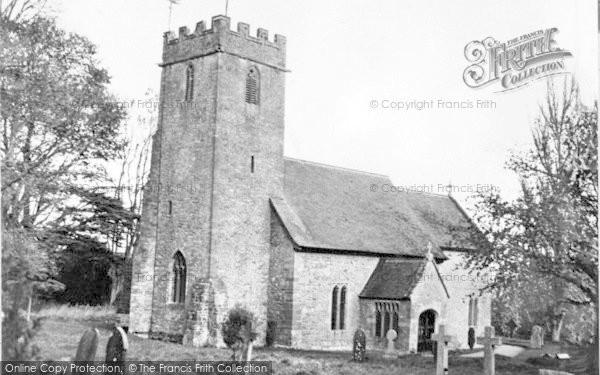 Photo of Halse, Parish Church c.1955