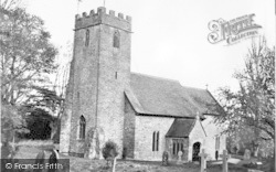 Parish Church c.1955, Halse