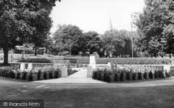 Halstead, Garden Of Remembrance, Recreation Ground c.1955