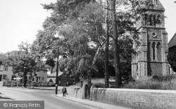 Halstead, London Road c.1955