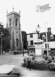 Halstead, St Andrew's Church c.1955