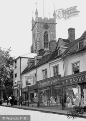 Halstead, St Andrew's Church, High Street c.1955