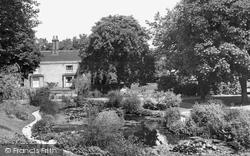 Halstead, The Pond, Recreation Ground c.1955