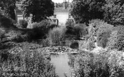 Halstead, The Pond, Recreation Ground c.1965