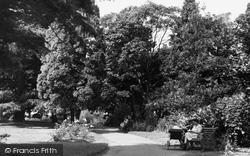 Halstead, The Recreation Ground c.1955